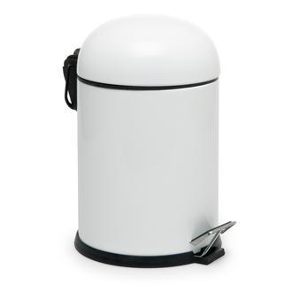 Dibanyo B Pedallı Banyo Çöp Kovası - Beyaz - 5 lt