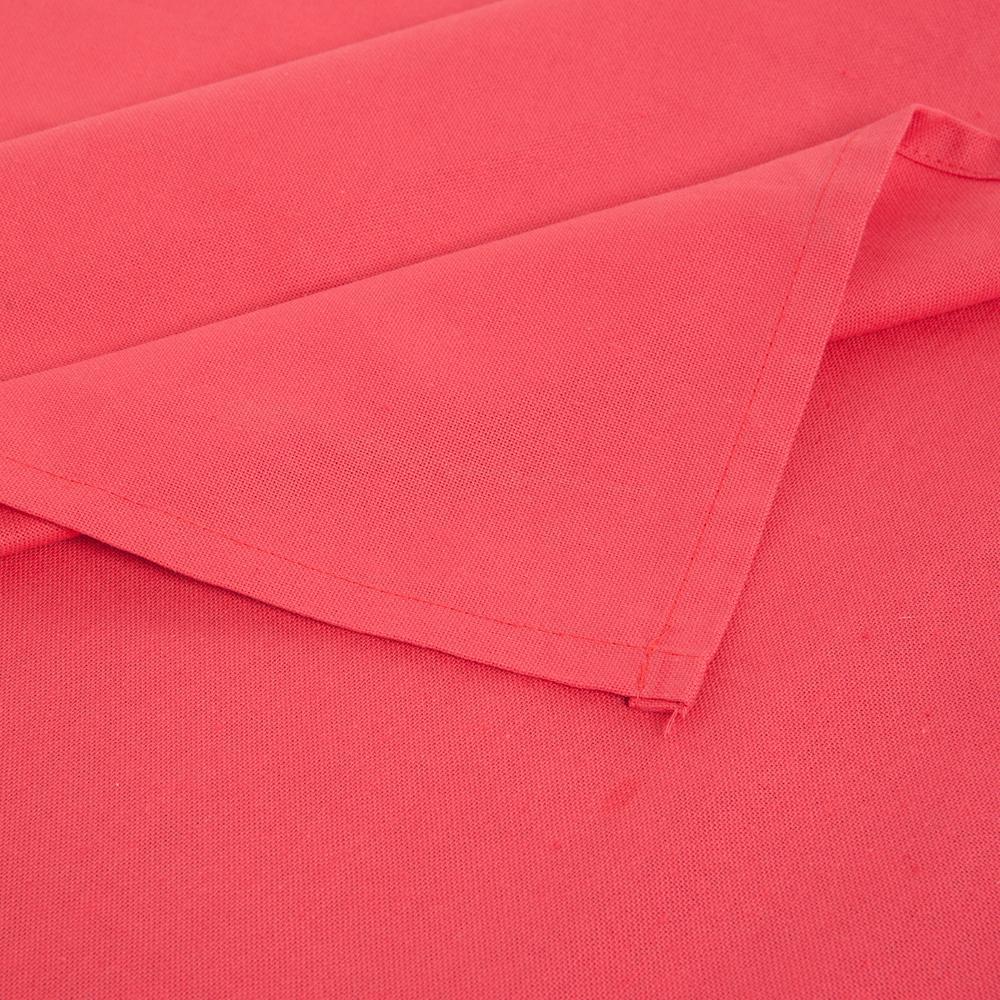 Neptün Düz Renk Masa Örtüsü (Kırmızı) - 140x180 cm