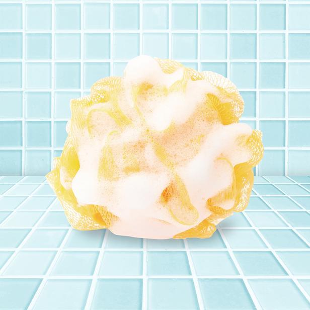Balmy Muzlu Süt Sabunlu Banyo Lifi