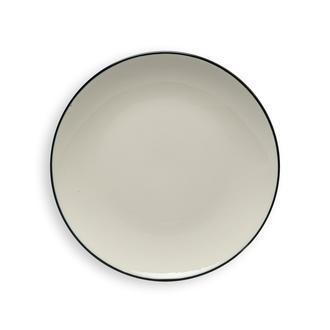 Tulu Porselen Line Servis Tabağı - 24 cm