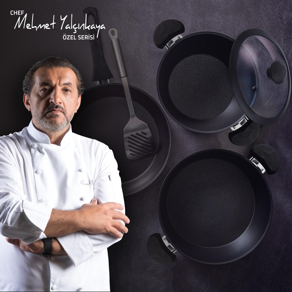 Tivoli Mehmet Şef Serisi Moreno A Plus Derin Tencere - 24 cm