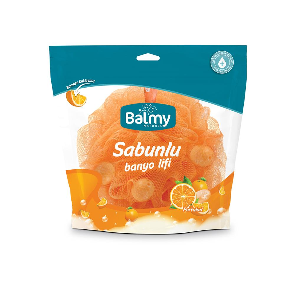 Balmy Portakal Sabunlu Banyo Lifi - Turuncu