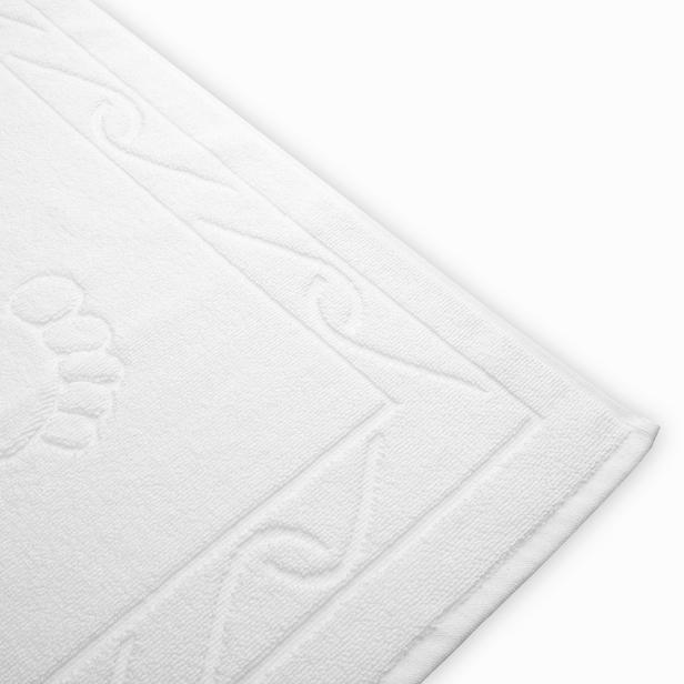 Hobby Hayal Ayak Havlusu (Beyaz) - 50x70 cm