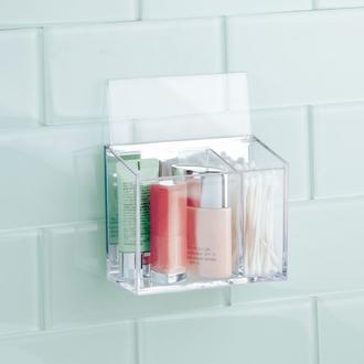 İnter Design Kendinden Yapışkanlı Kozmetik ve Banyo Organizeri - 12,7x10,2 cm