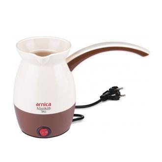 Arnica Köpüklü Eko Türk Kahve Makinesi - Krem / 800 Watt