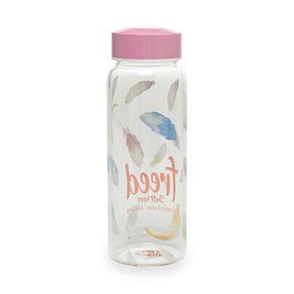 Taşev Picanti Cam Matara - Flamingo/500 ml
