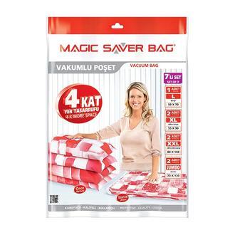 Magic Saver Bag Vakumlu 7'li Saklama Torbası