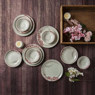 Tulu Porselen Sakura 12 parça Yemek Seti