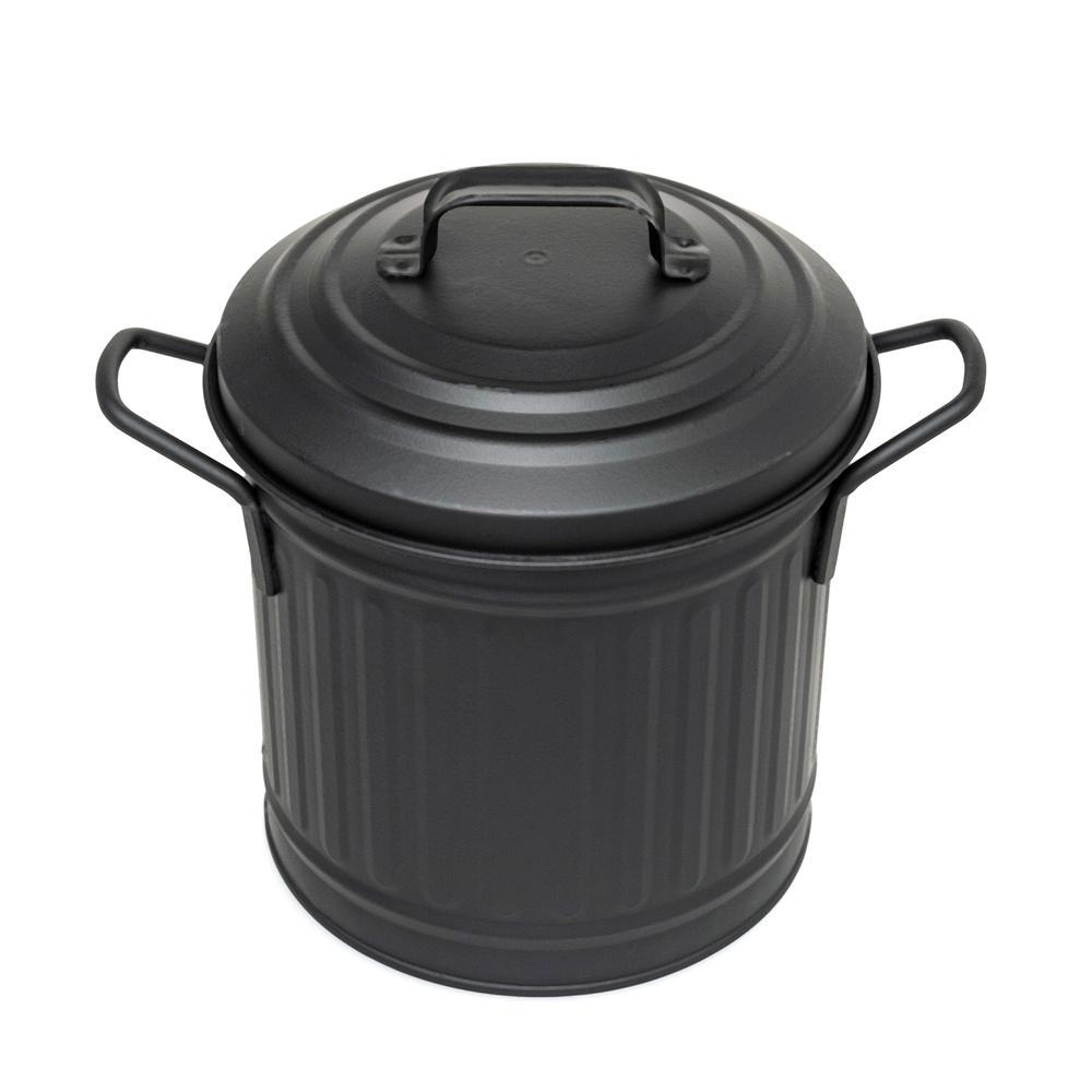 The Mia Tezgah Çöp Kovası 4 Lt- Siyah