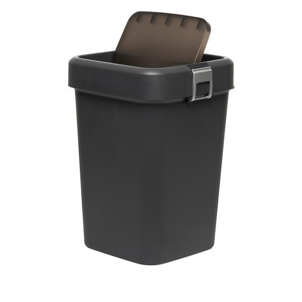 Motek Comfort Dust Bin Çöp Kovası (Antrasit) - 18 lt