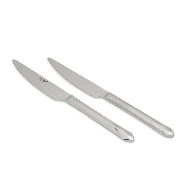 Erdem Elmas 18/10 2'li Blister Yemek Bıçağı