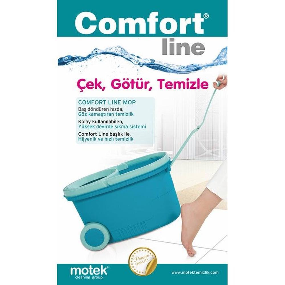 Motek Comfort Tekerlekli Temizlik Seti