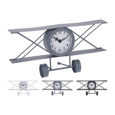 Q-Art Uçak Şekilli Saat - Asorti