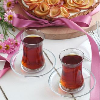 Lav Duru 6'lı Çay Bardağı - 155 cc