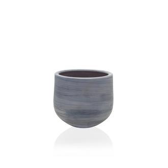 The Mia Eskitme Oval Saksı - 14x11 cm