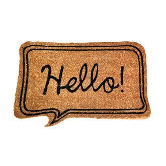 Giz Home Bej Hello Kapı Paspası - 40x60 cm