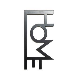 M&C Concept Home Metal Duvar Panosu - Siyah