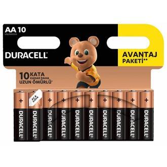 Duracell Basic 10'lu AA Kalem Pil