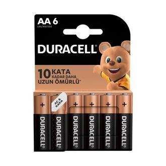 Duracell Basic 6'lı AA Kalem Pil