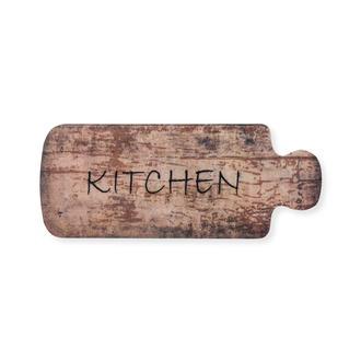 Giz Home Kitchen Wood Mutfak Halısı (Kahverengi) - 50x125 cm