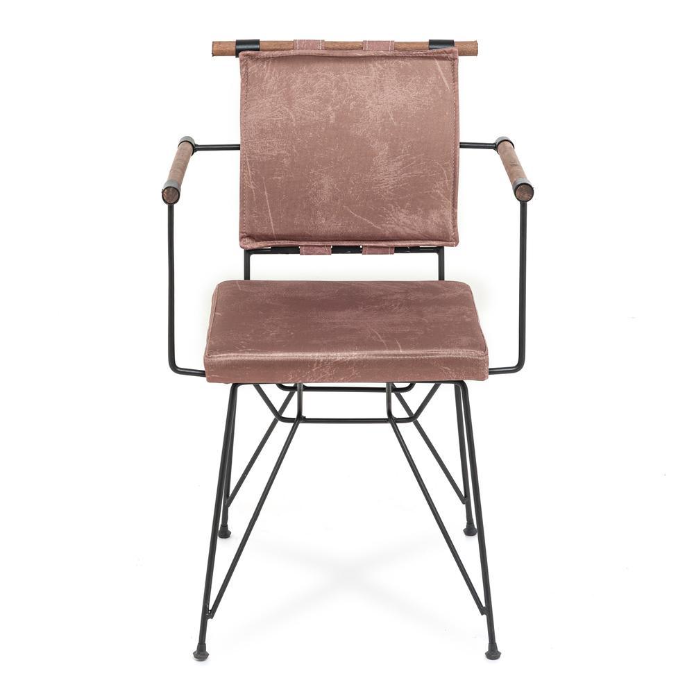 Akın Lüx Penyez Tel Sandalye - Kahverengi