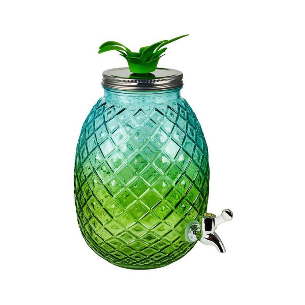 Excellent Houseware Limonata Sebili Şerbetlik (4,7 lt) - Yeşil