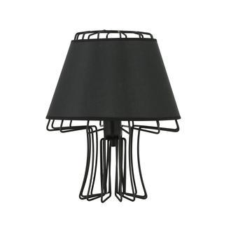Nisa Luce Design Abajur Siyah/Siyah
