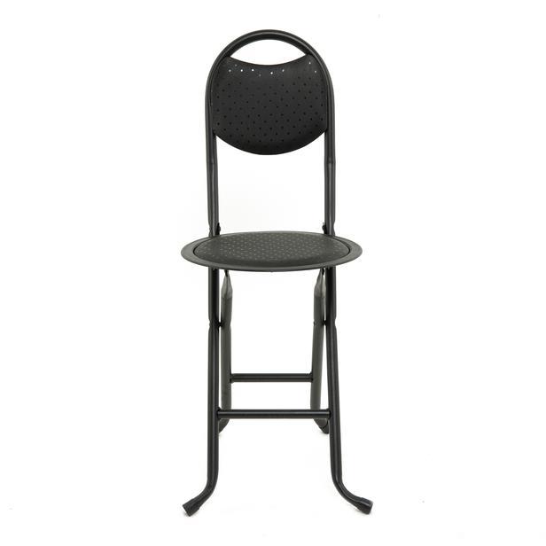 Just Home Katlanır Pratik Sandalye - Siyah