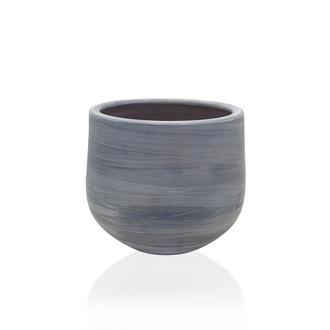 The Mia Eskitme Oval Saksı - 22x21 cm