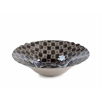 X-Dizayn Dama Küçük Meyvelik Gümüş - 29 cm