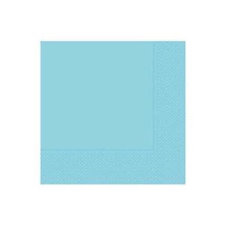 Roll-Up Party Dreams Açık Mavi 20'li Peçete - 33x33 cm