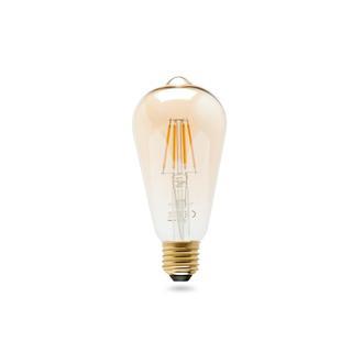 Osram ST64 Ledvıntage Edison E27Gold Sarı Işık Ampul