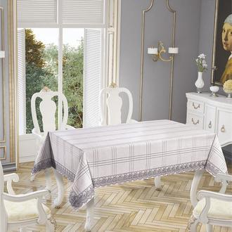 Tropik Home Botanic Masa Örtüsü (Gümüş) - 160x220 cm