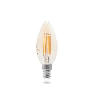 Orbus C37 4W Filament Bulb Clear E14 300Lm Ra80 220- 240V/50Hz 2200 K Sarı Işık Ampul