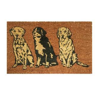 Giz Home Üç KöpekKapı Paspası 35x60 cm