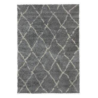 Payidar G0276 Shaggy Halı (Gri/Krem) - 120x180 cm