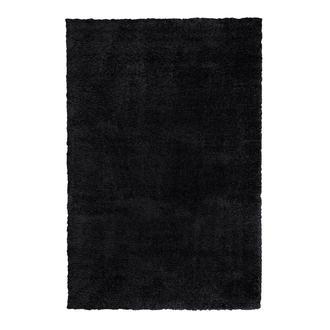 Payidar Shaggy Halı - Siyah - 80x150 cm