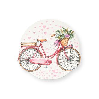 Myros Bicycle Ahşap Bardak Altlığı Magnet
