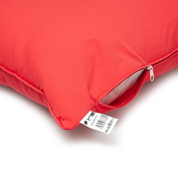 Iris Home Yer Minderi 70x70 cm - Kırmızı