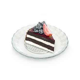 İpek Tatlı ve Pasta Tabağı - 17 cm