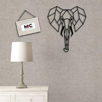 M&C Concept Metal Fil Duvar Panosu - Siyah