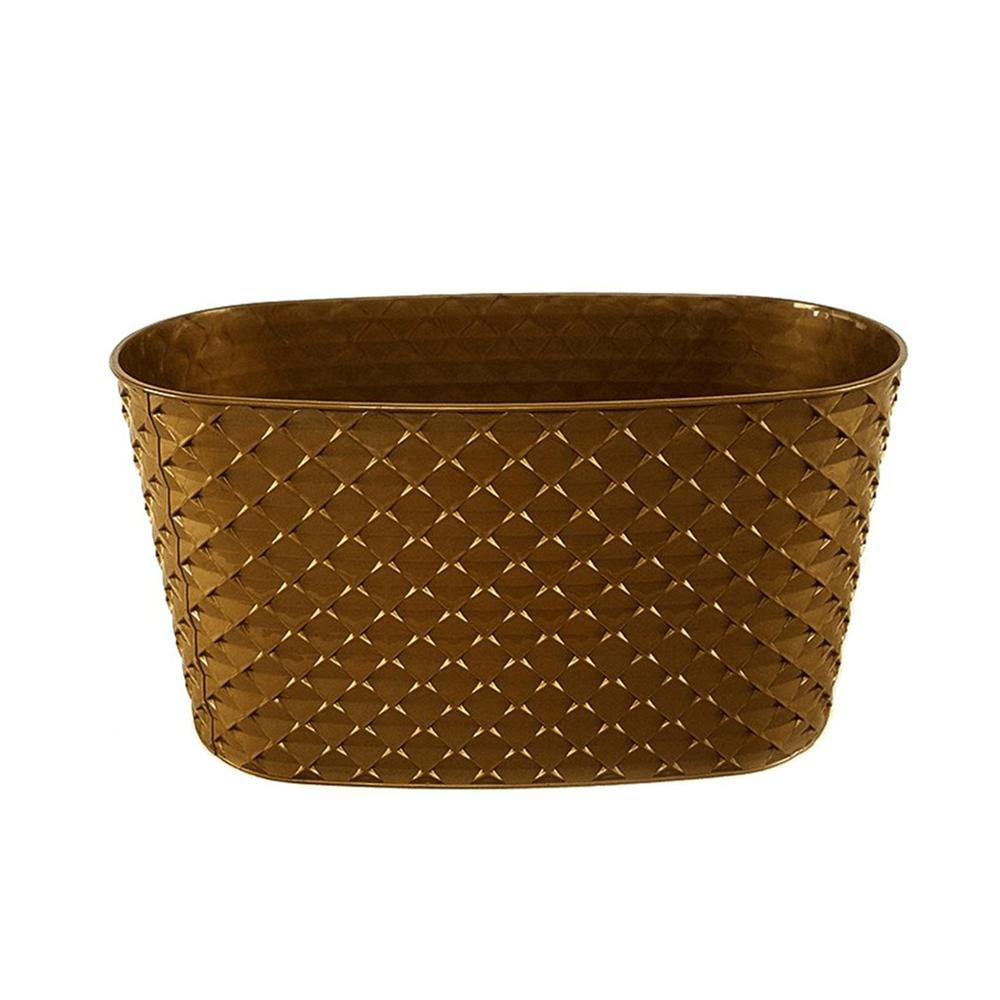 Serinova Kapadokya Balkon Saksı (Gold) - 4,7 lt