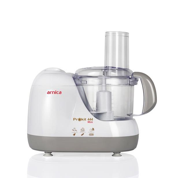Arnica Prokit 444 Mini Mutfak Robotu - Beyaz 600 Watt