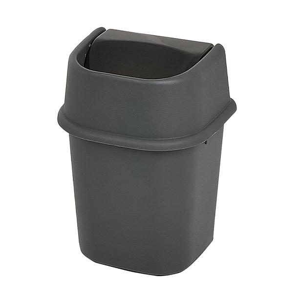 Motek Çöp Yut Antrasit Çöp Kovası -22 lt