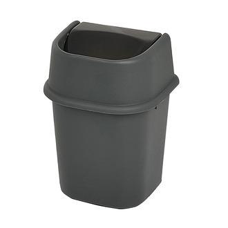 Motek Çöp Yut Antrasit Çöp Kovası - 22 lt