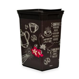 Q-Trash Bin Coffee House Mutfak Çöp Kovası - 40 lt