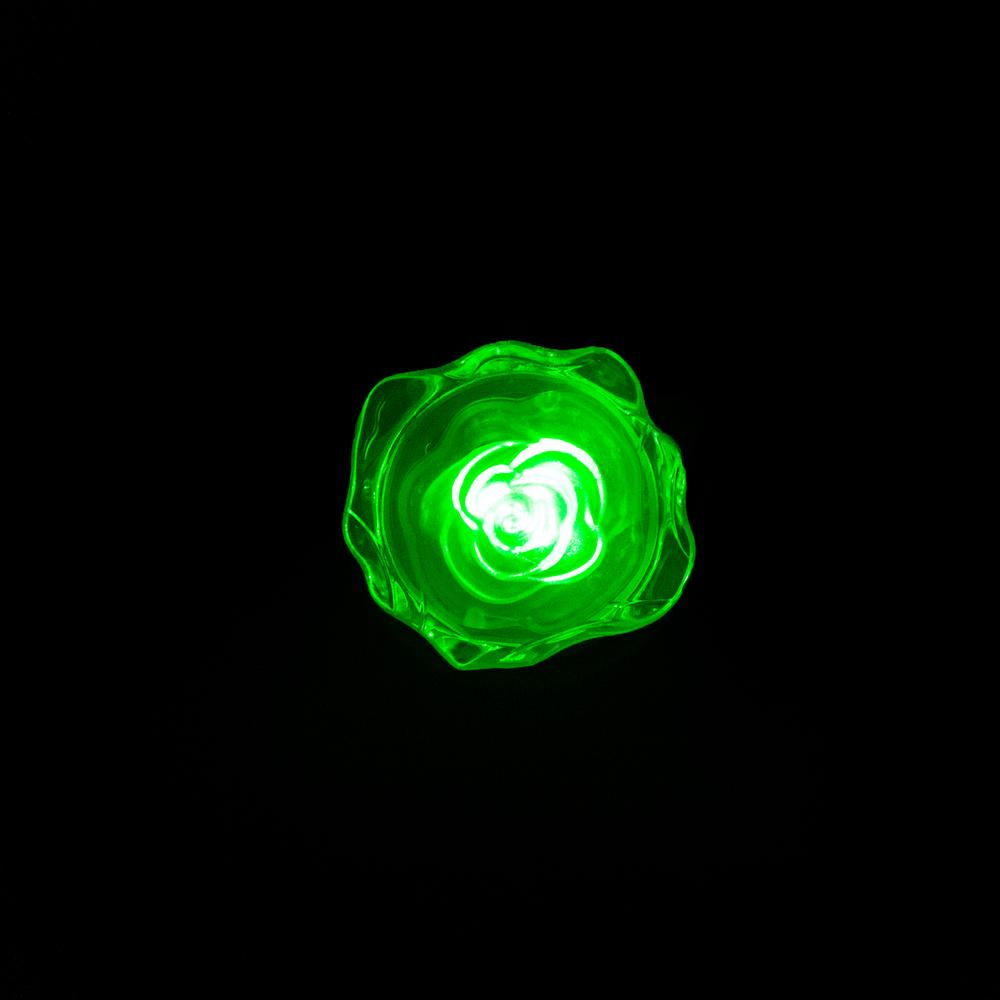 Pelsan Roza Gece Lambası - Yeşil