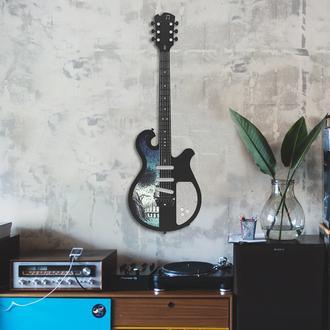 Artepera APT220 Elektro Gitar Metal Tablo ( Colorart ) - 33x99 cm