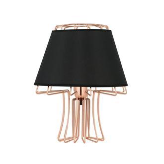 Nisa Luce Design Abajur Rose/Siyah
