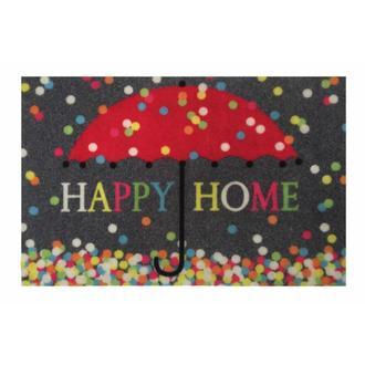 Giz Home Magic Renkli Şemsiye Kapı Paspası 40x60 cm  - Renkli